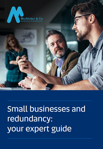 small business redundancy guide cover mcalister