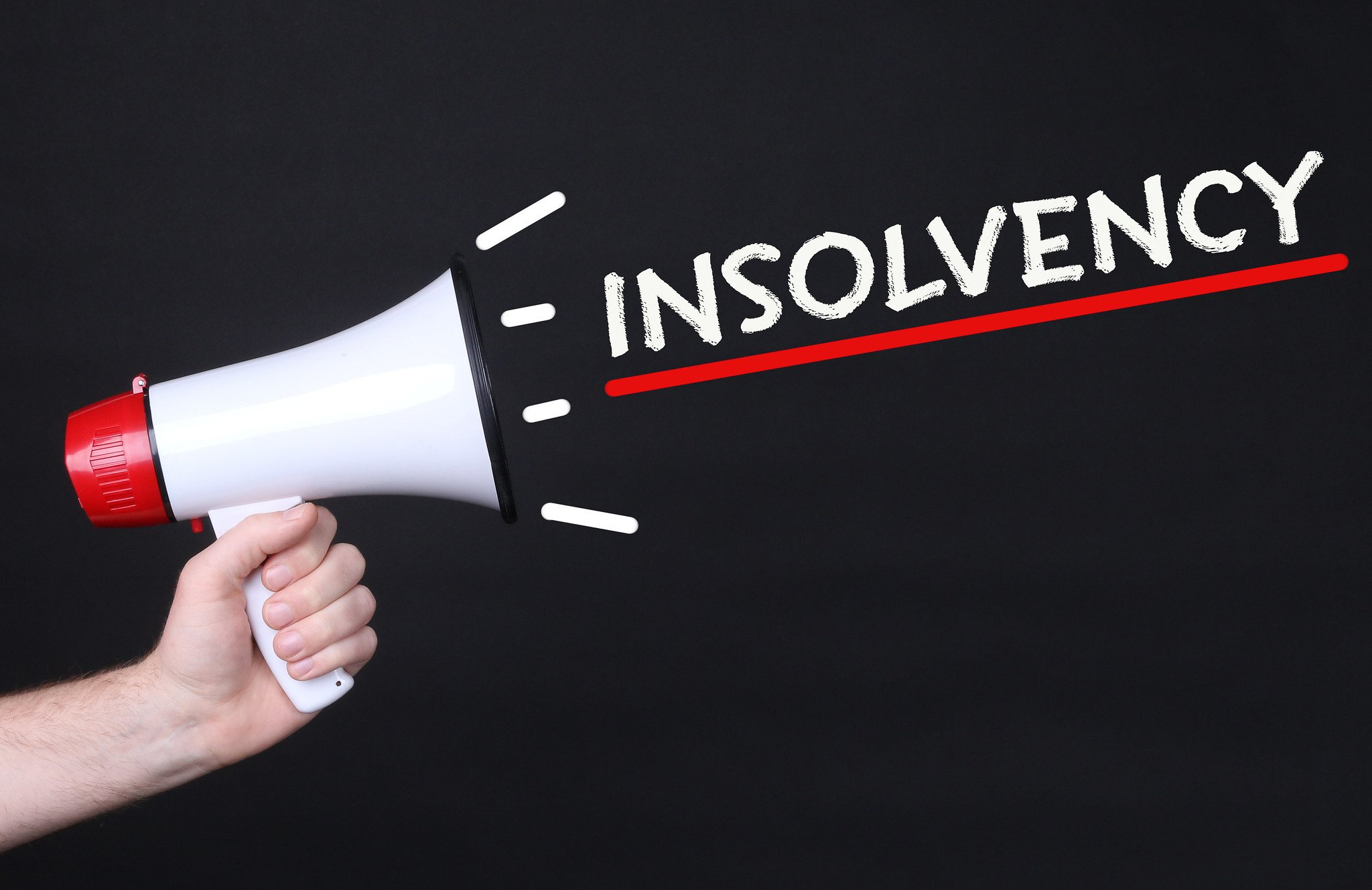 insolvency warning signs